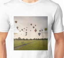 Early Morning Balloon Ascent over Bristol Unisex T-Shirt