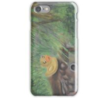 Landscape with Rubber Ducky iPhone Case/Skin
