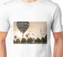 Early morning balloon chasing Unisex T-Shirt