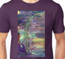 Falling Feather Unisex T-Shirt