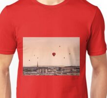 Balloons over Bristol at sunset Unisex T-Shirt