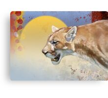 Cougar Canvas Print
