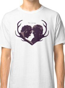 Murder Husbands Heart Design Classic T-Shirt