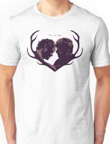 Murder Husbands Heart Design Unisex T-Shirt