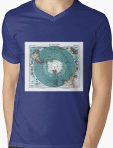 antarctica Mens V-Neck T-Shirt