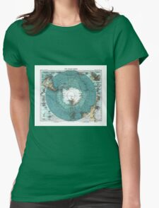 antarctica Womens Fitted T-Shirt