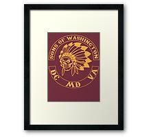 Redskins - Sons of Washington Framed Print