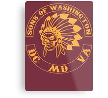 Redskins - Sons of Washington Metal Print