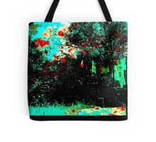 blood on the washing ... Tote Bag