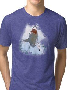 Shark Attack Tri-blend T-Shirt