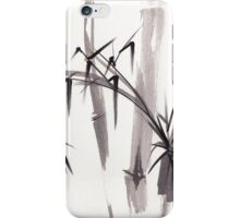 'after the rain'  - original ink and wash painting iPhone Case/Skin