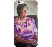 The Hon Sally Thomas, NT Administrator iPhone Case/Skin