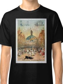 Performing Arts Posters Excelsior Kiralfy Brothers spectacular triumph 1511 Classic T-Shirt