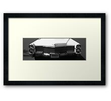 Classic Cadillac DeVille Framed Print