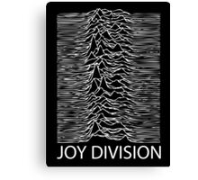 Joy Division W Canvas Print
