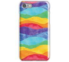 Rainbow Waves iPhone Case/Skin