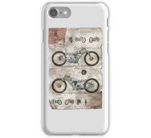 Motor Art - The Booklet iPhone Case/Skin