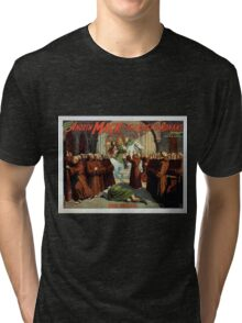 Performing Arts Posters The singing comedian Andrew Mack in the The last of the Rohans by Ramsay Morris 1111 Tri-blend T-Shirt