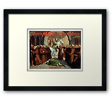 Performing Arts Posters The singing comedian Andrew Mack in the The last of the Rohans by Ramsay Morris 1111 Framed Print