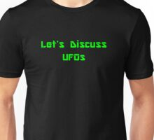 Let's Discuss UFOs Unisex T-Shirt