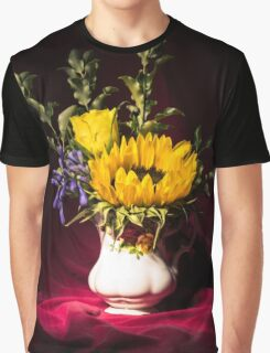 Still Life Flowers 4 Graphic T-Shirt
