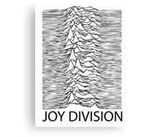 Joy Division B Canvas Print