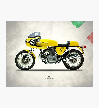 The 900 Super Sport 1977 Photographic Print