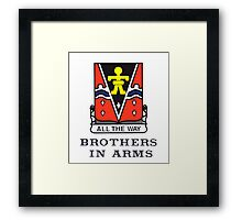 509th - Brothers in Arms Framed Print