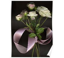 Fairy Rose & Ribbon Poster