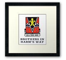 509th - Brothers in Harm's Way Framed Print