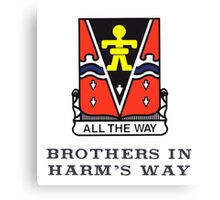 509th - Brothers in Harm's Way Canvas Print