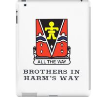 509th - Brothers in Harm's Way iPad Case/Skin
