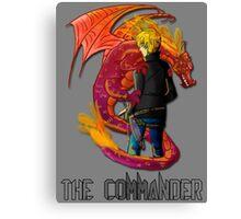 The Haunted - Grayson: The Commander Canvas Print