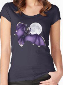Pokemon - Lunala (no BG) Women's Fitted Scoop T-Shirt