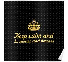 Keep calm and... Inspirational Quote Poster