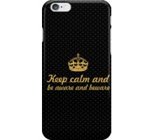 Keep calm and... Inspirational Quote iPhone Case/Skin