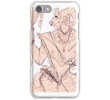dances with dust - 1 (skyrim) iPhone Case/Skin