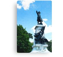 General Rochambeau Statue D.C. Canvas Print
