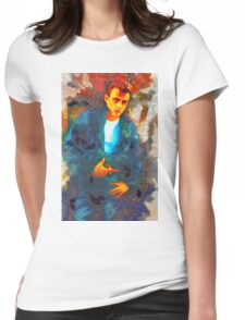 James Dean Hollywood Legend Womens Fitted T-Shirt