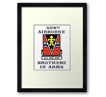 509th Airborne - Brothers in Arms Framed Print