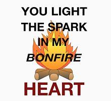 Bonfire Heart - James Blunt Womens Fitted T-Shirt