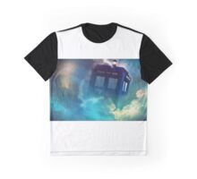 Doctor Who Tardis Art Graphic T-Shirt