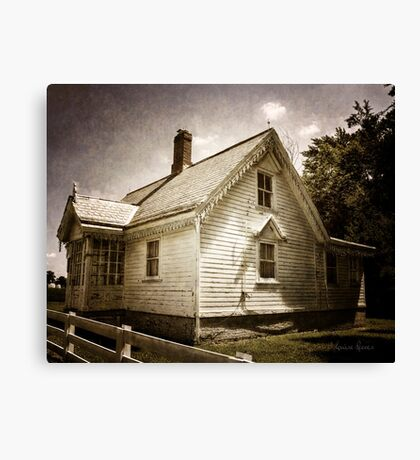 Gingerbread Cottage Canvas Print