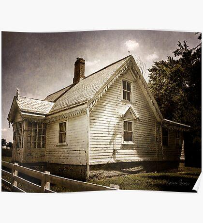Gingerbread Cottage Poster