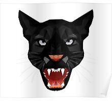 Katze Leopard Puma / Panther Gesicht Poster