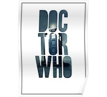 Doctor Who Graphic Art Poster