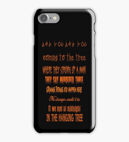 The Hanging Tree iPhone Case/Skin