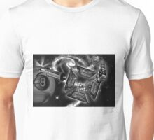 Eating the Dust of the Eight Ball Unisex T-Shirt