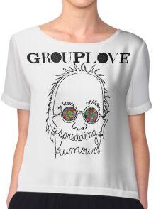 grouplove logo Chiffon Top