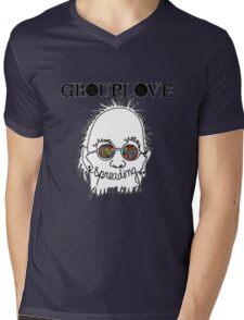grouplove logo Mens V-Neck T-Shirt